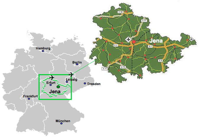 Map Jena Bioscience