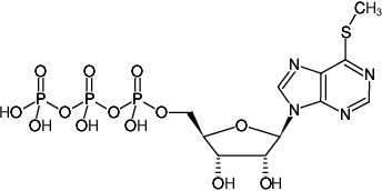 Structural formula of 6-Methylthio-ITP (6-Methylthioinosine-5'-triphosphate, Sodium salt)