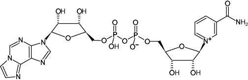 Structural formula of Etheno-AP2(Nic) [ε-AP2(Nic)] ((Nicotinamide 1,N6-ethano-adenine dinucleotide), Nicotinamide 1,N6-ethano-adenine dinucleotide, Sodium salt)