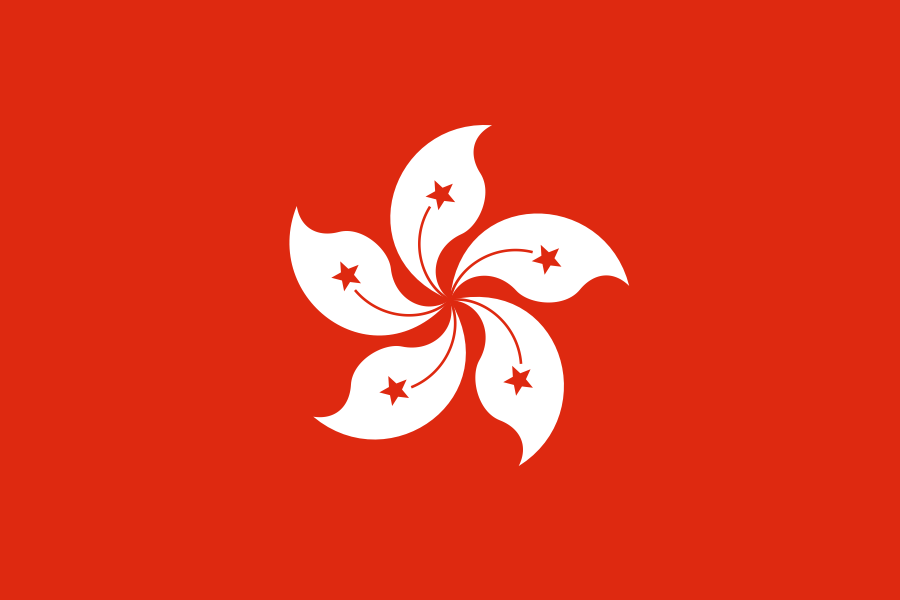 Flag Hong Kong
