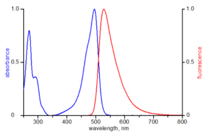 excitation and emission spectrum of ATTO 495