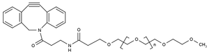 Structural formula of DBCO-PEG 10 kDa