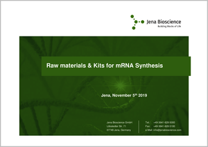 Preview  mRNA Synthesis Product Portfolio