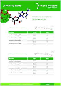 Preview JBS Affinity Resins – Immobilized Nucleotides: The perfect match!