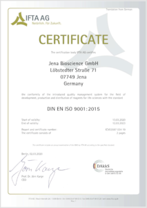 Preview ISO 9001 Certificate (English version)