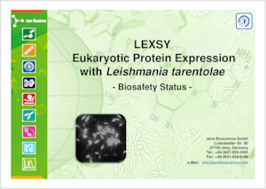 Preview Documentation of LEXSY Biosafety Status