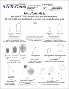 Preview Contents MicroTool™ Kit 1