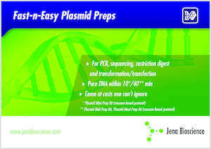 Preview Fast-n-Easy Plasmid Preps