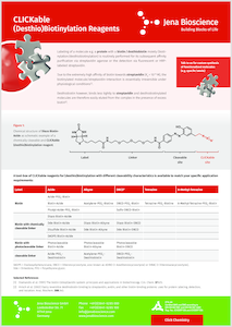 Preview CLICKable (Desthio)Biotinylation Reagents